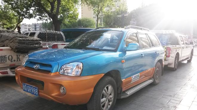 カシュガル シェアタクシー