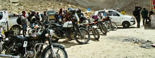 ラダックの走り方① バイクの旅とラダックの道