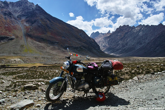 ザンスカール13日間のバイク旅