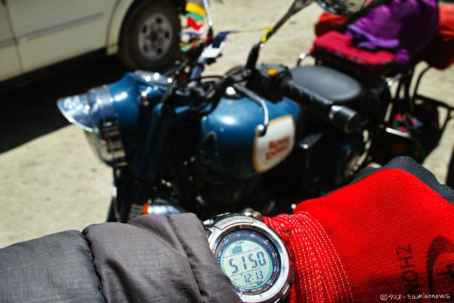 ヌブラ渓谷 バイクツーリング