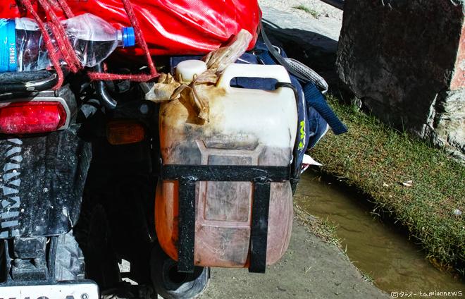 Ladakh Bike ポリタンク