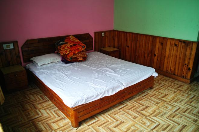 ニューマナリ宿 ベッド