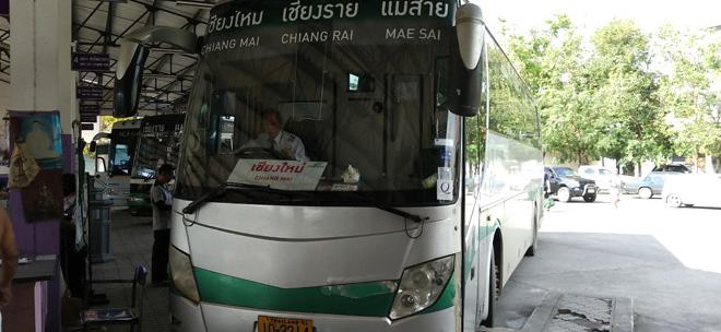 グリーンバス(Green Bus)のVIPに安く乗る裏技 – チェンマイからメーサイ / チェンコーン