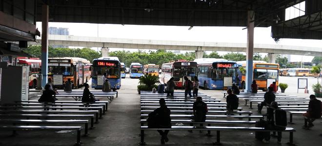 【動画あり】モーチットバスターミナルのローカルバス乗り場への行き方(カオサン・フアランポーン駅・バンコク市内行き)