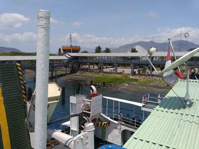バリ島側 フェリーターミナル